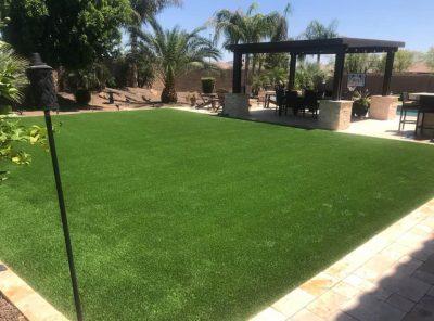 Updated, green yard
